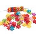 Floricele acril multicolore 20b