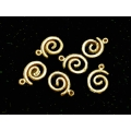 Charm aurit spirala 16mm