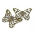 Pandantiv bronz fluture stilizat