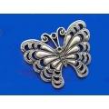 Pandantiv zamac argintat fluture pctl