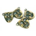 Link bronz, masca venetiana2