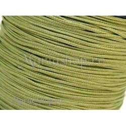 Snur matase olive OZ, 1mm 5m