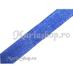 Satin albastru10mm 2m