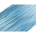 Snur matase cu guta, bleu - 1mm 5m