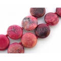 Ruby Impression Jasper flat 16mm 3b