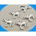 Charm argintiu elefant tr 2b