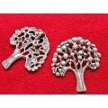 Pandantiv zamac argintat pomul vietii fr