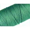 Snur matase verde smarald, 0.8mm 5m