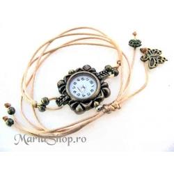 Simplu - ceas bronz
