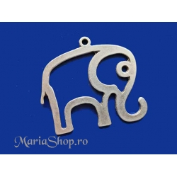 Pandantiv zamac Ag elefant contur