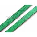 Snur lat piele eco verde 10x2mm, 50cm