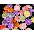 Mix floricele acril 30b