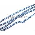 Lant colorat albastru 4.5x3.2 50cm