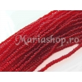Transparent Pepper Dark Red 11/0