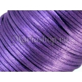 Snur satin mov 2mm 5m