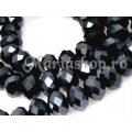 Margele CH-rondele negru hematit 5b