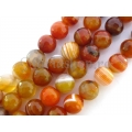 Agate sardonix sfere ftt 10mm sun color x2