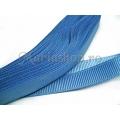Panglica ripsata 10mm - albastru