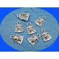 Charm argintiu Tutankamon 3b