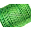 Snur satin verde mint 1mm 5m