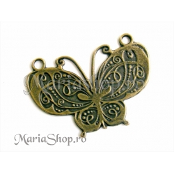 Pandantiv bronz - fluture rt1