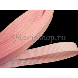 Panglica ripsata 10mm - roz