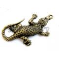 Pandantiv bronz salamandra