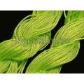Snur matase verde neon-1 1mm 5m