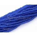 Cobalt Silver lined 11/0