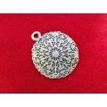 Pandantiv zamac argintat persan 54mm
