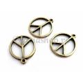 Pandantiv bronz semnul pacii 2b