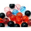 Mix margele acril, 10mm 20g