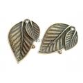 Pandantiv bronz 2 frunze