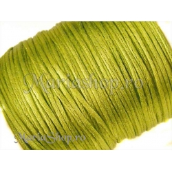 Snur satin olive 1mm 5m