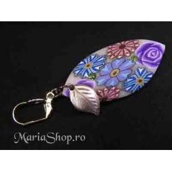 Cercei Violet Roses