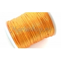 Snur satin orange 1mm 5m