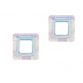 Cristal square 14mm crystal AB