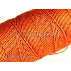 Snur matase orange, 0.8mm 5m