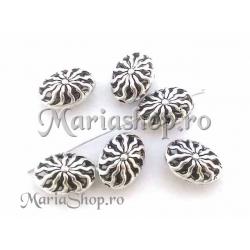 Margele tip Bali oval 18mm