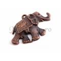 Pandantiv zamac elefant 40mm Cu