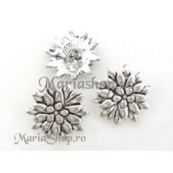 Pandantiv argint tibetan floare