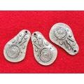 Pandantiv zamac argintat afro 44mm