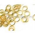 Zale aurii 6mm