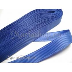 Panglica ripsata 10mm - albastru 2