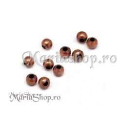 Margele metalice Cu 2mm