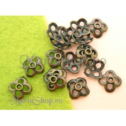 Capacel bronz 4 petale 10.5mm S 10b