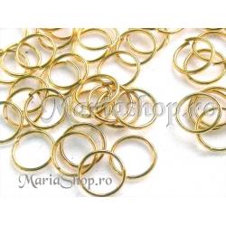 Zale aurii 10mm