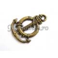 Pandantiv bronz, ancora-colac