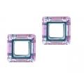 Cristal square 14mm vitrail light