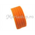 Faux suede orange 3m